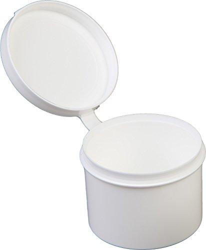 1oz container white plastic - 2