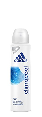 Adidas Climacool 48h Performance Anti-perspirant Deodorant and Body Spray for Women 150ml = 5.07oz (Womens Perspirant Adidas Anti)
