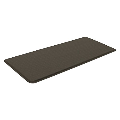 """GelPro Classic Anti-Fatigue Kitchen Comfort Chef Floor Mat, 20x48"""", Linen Granite Gray Stain Resistant Surface with 1/2"""" Gel Core for Health and Wellness by GelPro (Image #2)"""