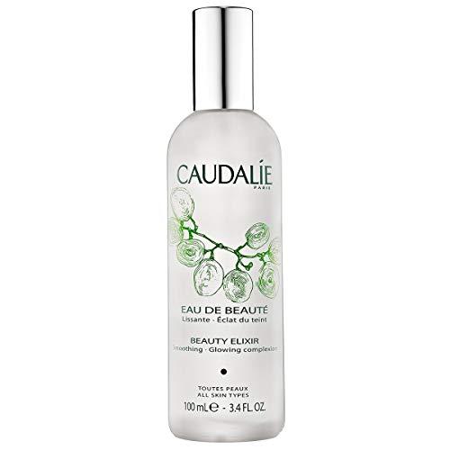 (CaudalÍe Paris Beauty Elixir Eau de Beaute Spray. Refreshing and Lightweight Face T1r to Tighten Pores, Set Makeup, and Improve Oily Skin and Complexion, 3.4 Fl. Oz)