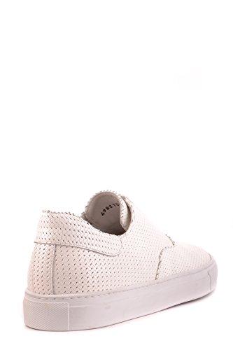 Cesare Paciotti Slip On Sneakers Uomo MCBI068024O Pelle Bianco