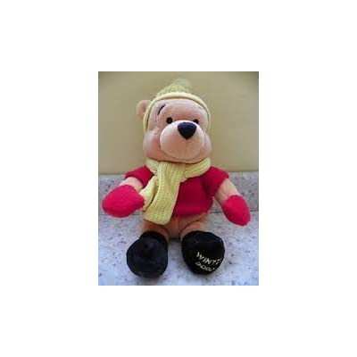 Disney Store Winnie the Pooh Minnie Bean Bag Plush - Winter 2002: Everything Else