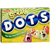 Tootsie Sour Dots Gumdrops Candy, 7 oz (Pack of 12)