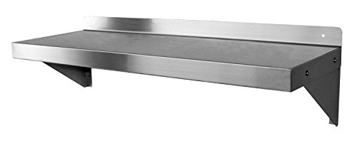 Gsw Stainless Steel Commercial Wall Mount Shelf 12 By 24