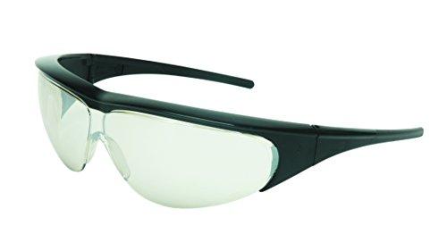 UVEX MILLENNIA 11150355 Black Frame Clear Lens, Uvextreme Anti-fog Coating ()
