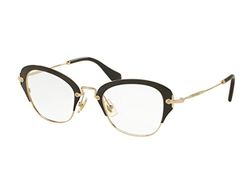 Miu Miu OMU 53OV Women Optical Frame (1AB1O1) - Miu Optical Eyewear Miu