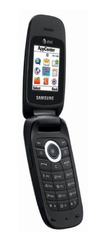 Samsung A197 Unlocked GSM Flip Phone with 1.37 Color Display, VGA Camera, Bluetooth, Mobile Web, SMS (with T9), IM, Email and Organizer - Black (Samsung A197)