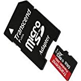 ZTE Solar Cell Phone Memory Card 64GB microSDHC Memory Card with SD Adapter