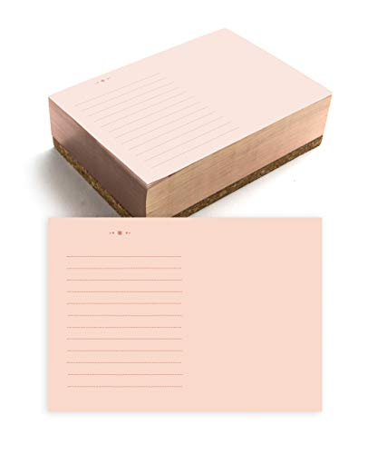 gold notepad