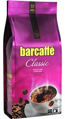 Mleta Kava Barcaffe Classic - Roasted and Ground Coffee Blend for Preparation of Turkish Coffee, 2-Pack: 2 Bags of each 375g (13,23 oz)