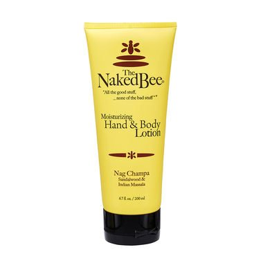 The Naked Bee Moisturizing Hand & Body Lotion, 6.7 Ounce, Na