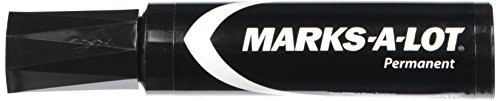 Jumbo Tip Markers - Avery(R) Marks-A-Lot(R) Jumbo Permanent Marker, Black