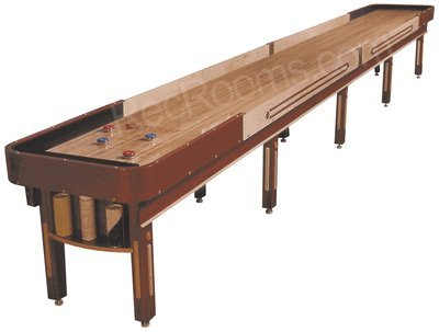 Venture 14 Foot Grand Deluxe Shuffleboard Table Style: No Cover
