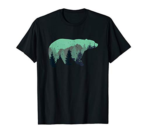 Bear Camping Lover Funny Costume shirt gift Camping -