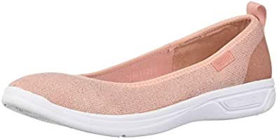 Kenneth Cole Reaction Womens Ready Ballet Fabric Closed Toe, Blush, Size 5.5 US