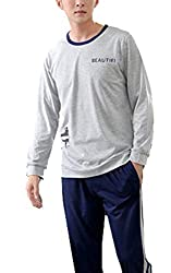 Men's Long-Sleeved 2 Piece Pyjamas
