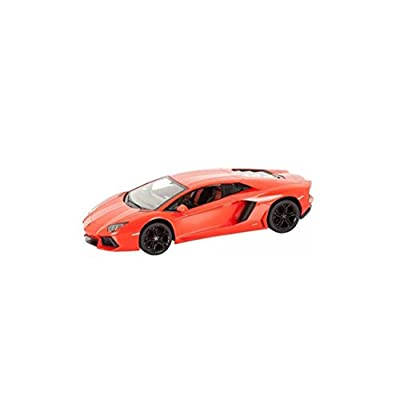 1/14 Scale Lamborghini Aventador LP700 Radio Remote Control Model Car R/C RTR (Orange): Toys & Games