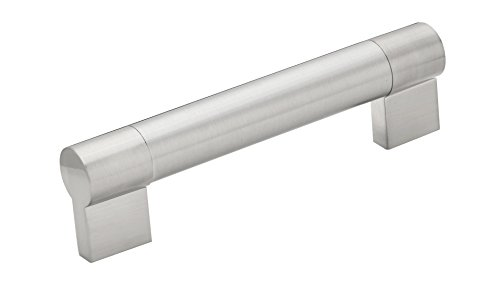 Richelieu Hardware BP500320195 - Contemporary Stainless Steel Pull - 12 5/8 in (320 mm) - Brushed Nickel Finish