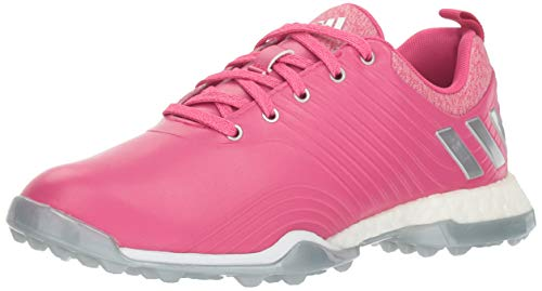 - adidas Womens Adipower 4ORGED Golf Shoe Real Magenta/Silver Metallic/FTWR White 5.5 M US