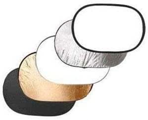Fancier RE 2001 5 in 1 Oval Shape Reflector - 110x168cm