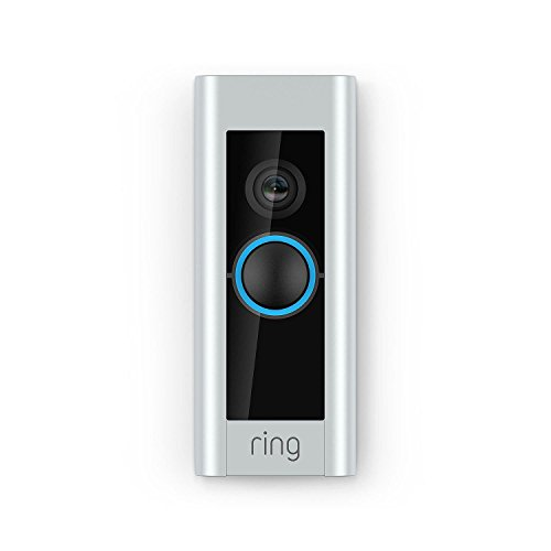 Ring Video 88LP000CH000 Doorbell Pro (Existing Doorbell Wiring Required), Works with Amazon Alexa