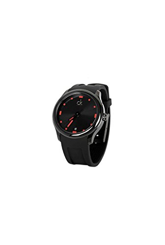 Watch Black Face Rubber Strap - 7