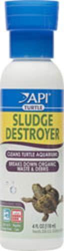 API Turtle Sludge Destroyer Aquarium Cleaner & Sludge Remover Treatment 4 oz Bottle