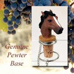 Horse Cork Bottle Buddy Wine Stopper