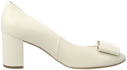 5 White 5080 Ivory 1400 Heels Women's 10 HÖGL 1400 Toe Closed 5xw8OHBnaq