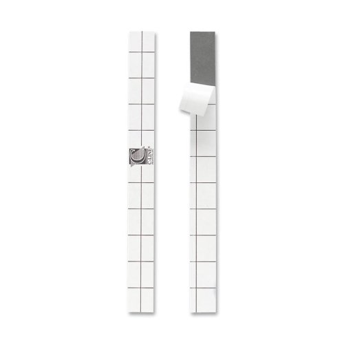 C-line Self-Adhesive Reinforcing Strips - Plastic - 200 / Box - Clear by C-Line