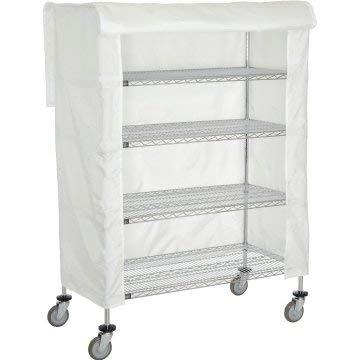 White Nylon Cart Cover - 18x36x63inch Unit