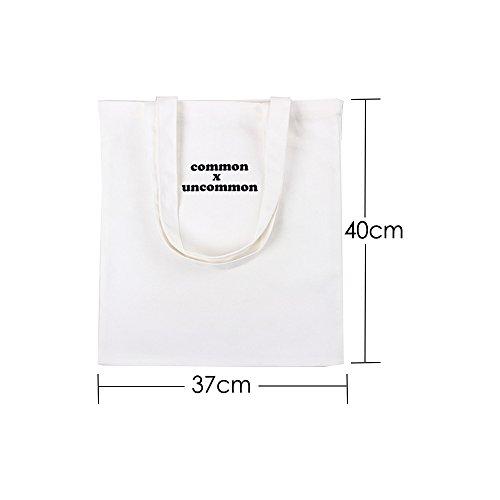 Algodón Hombro amp;jane Harson Alta Asas De Shopper 07 Reutilizable Calidad Bolsa Del Lona La I8wRrqxw