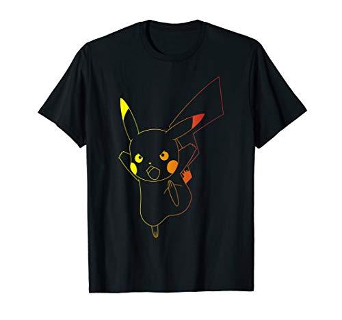 Pokemon T Shirt (Pokemon Pikachu Ombre)