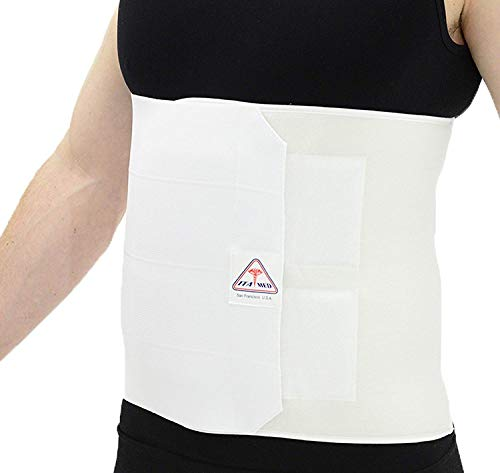 ITA-MED Unisex Breathable Elastic Postsurgical Recovery Abdominal and Back Support Wrap/Binder 12