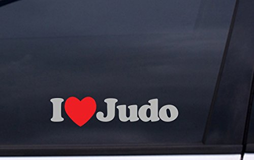 (I LOVE JUDO Decal 2