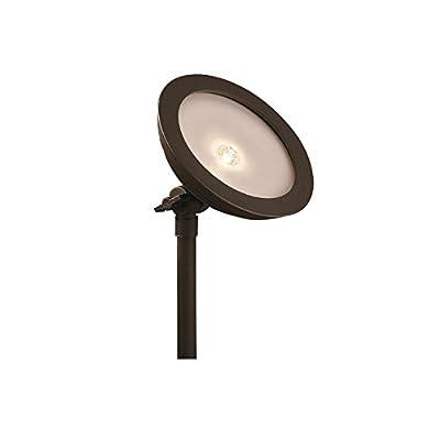 Portfolio GLRBS90226-A 9-Watt Specialty Textured Bronze Low Voltage Led Landscape Flood Light