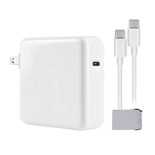 🥇 Sodame Mac Book Pro Charger 87W USB C Power Adapter Compatible with MacBook Pro 15 Inch 13 Inch MacBook Air iPad Pro 2018 2019 2020 Include Charge Cable