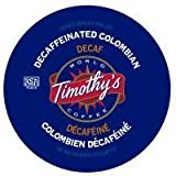 Timothy's World Coffee DECAF Colombian 96 K-Cups