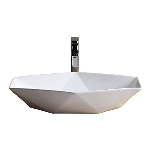 Fine Fixtures Vessel Sink Vitreous China MV2416TE