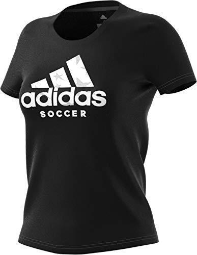 Amazon.com  adidas Women s Badge of Sport Logo Tee  Sports   Outdoors 0765202fede