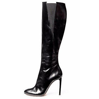 Stivali Fashion Wuyulunbi Us6 Stiletto Uk4 Cn36 CN36 Donna Heel Black Abito Eu36 Nero amp; Scarpe Casual UK4 Carriera EU36 US6 Office Stivali n6qXXFIwx