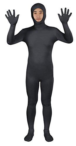 Sheface Spandex Open Face Zentai Suit Halloween Costumes
