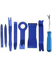 مجموعة ادوات لازالة فرش السيارة مثل لوح جهاز القيادة والراديو والواح الابواب من البلاستيك، (تي او تي)، مجموعة من 8 قطع