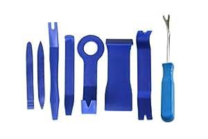 8pcs/set Auto Car Dash Radio Door Clip Panel Trim Removal Tool Set Kit Plastic (TOT)