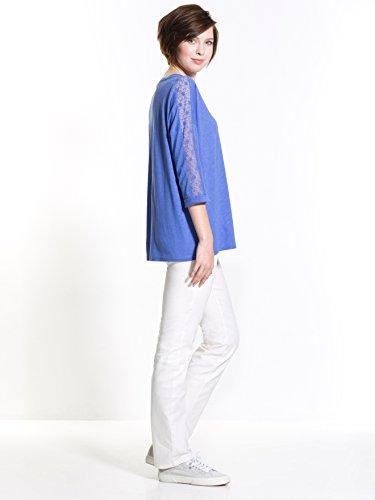 Balsamik Maglietta - donna - Size : 0 - Colour : Blu medio solido