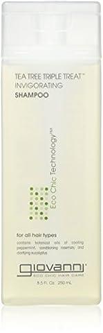 Giovanni Tea Tree Triple Treat Shampoo 8.5 Oz