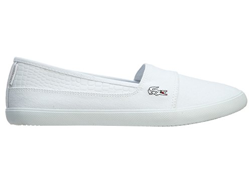 Lacoste Women's Marice Rct Spw White/White Casual Shoe 9.5 Women US