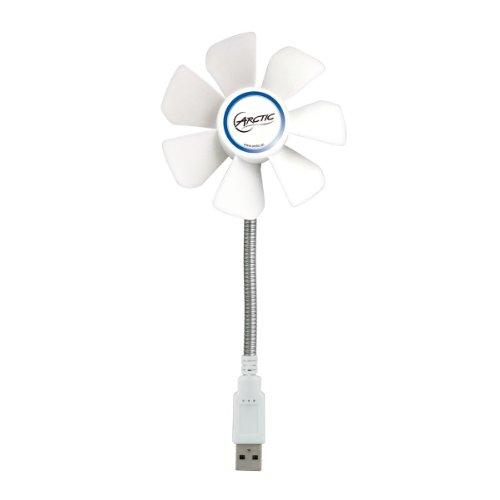 ARCTIC-Breeze-Mobile-Mini-USB-Desktop-Fan-with-Flexible-Neck-and-Adjustable-Fan-Speed-I-Portable-Desk-Fan-for-Home-Office-I-Silent-USB-Fan-I-Fan-Speed-1700-RPM-White