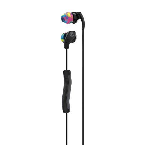 Skullcandy S2CDJY-523 Method in-Ear Sport Earbuds with Mic, Swirl