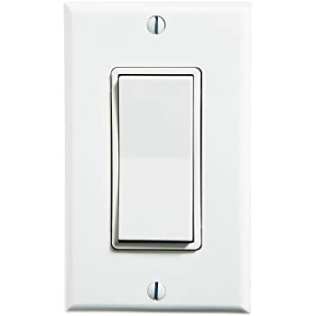 Leviton wss0s d0w 1 gang single rocker decora switch white wall leviton wss0s d0w 1 gang single rocker decora switch white aloadofball